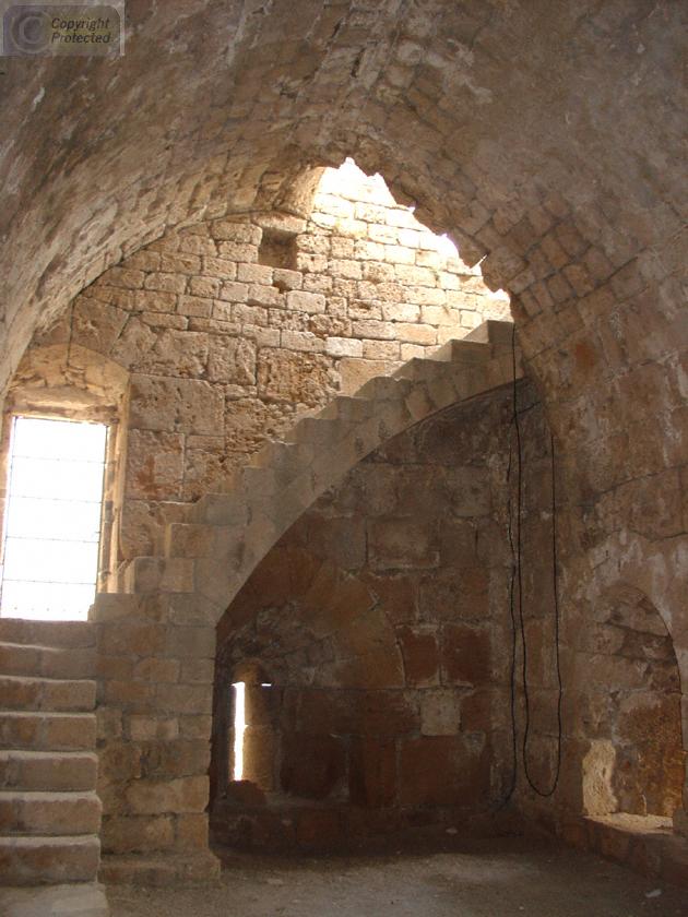 Inside The Crusader Castle In Byblos